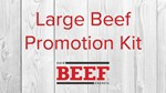 Large Beef Promotion Kit