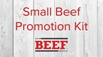 Small Beef Promotion Kit